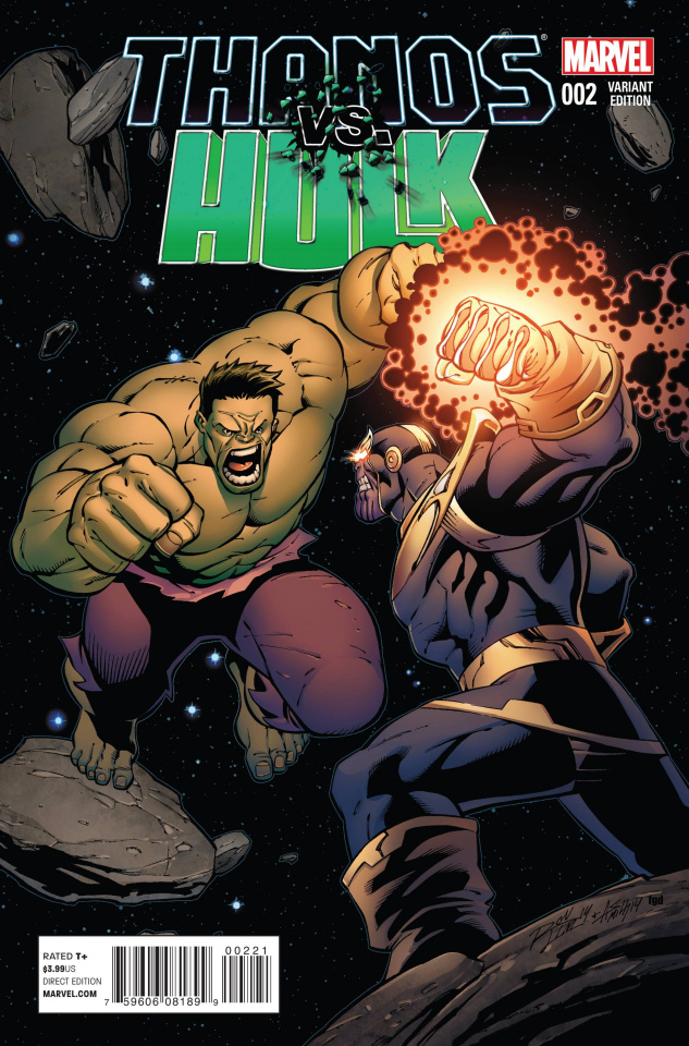 Thanos vs. Hulk #2 (Lim Cover)