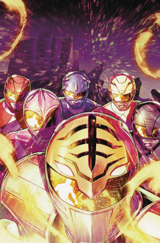 Mighty Morphin' Power Rangers #51 (Campbell Cover)