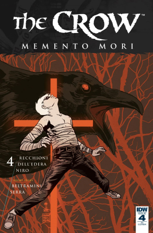 The Crow: Memento Mori #4 (10 Copy Cover)