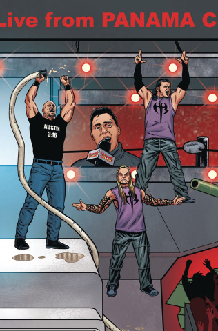 WWE #15 (Schoonover Raw Connecting Cover)