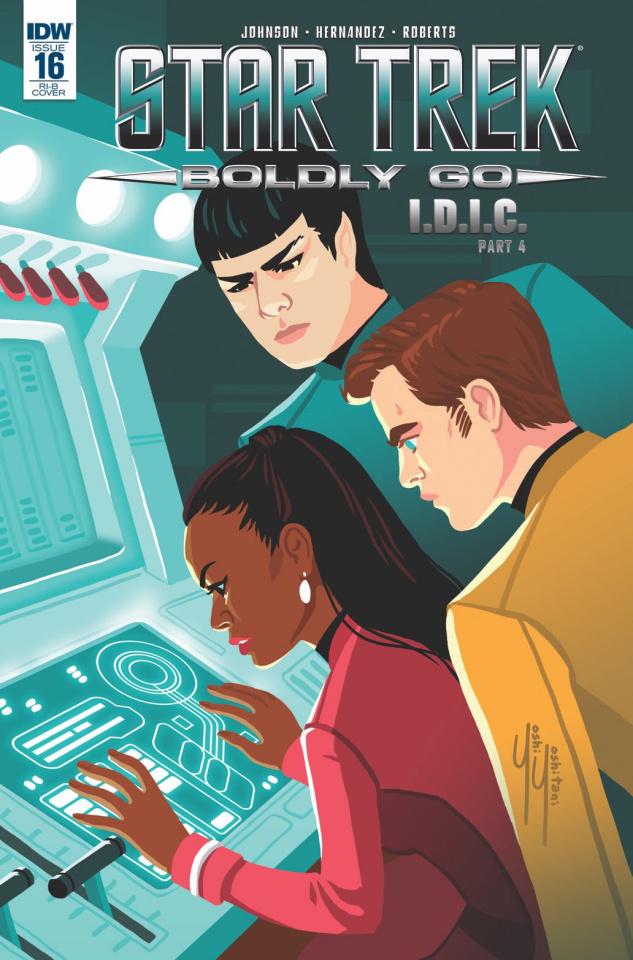Star Trek: Boldly Go #16 (25 Copy Cover)