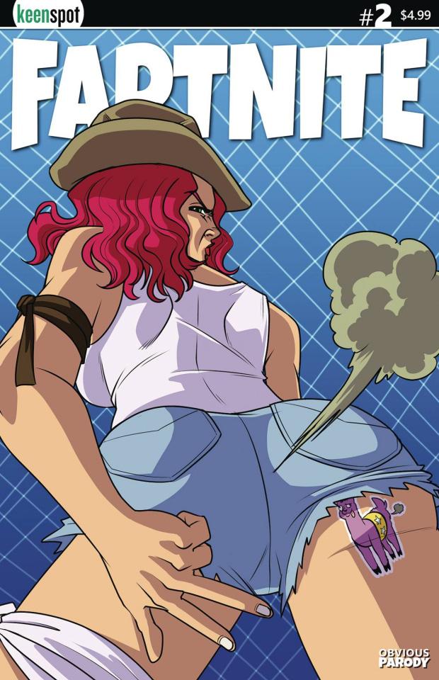 Fartnite: Chapter Poo #1 (Back Again Cover)