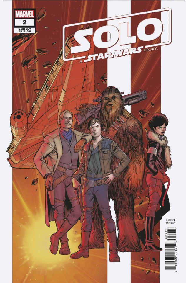 Star Wars: Solo #2 (Pacheco Cover)