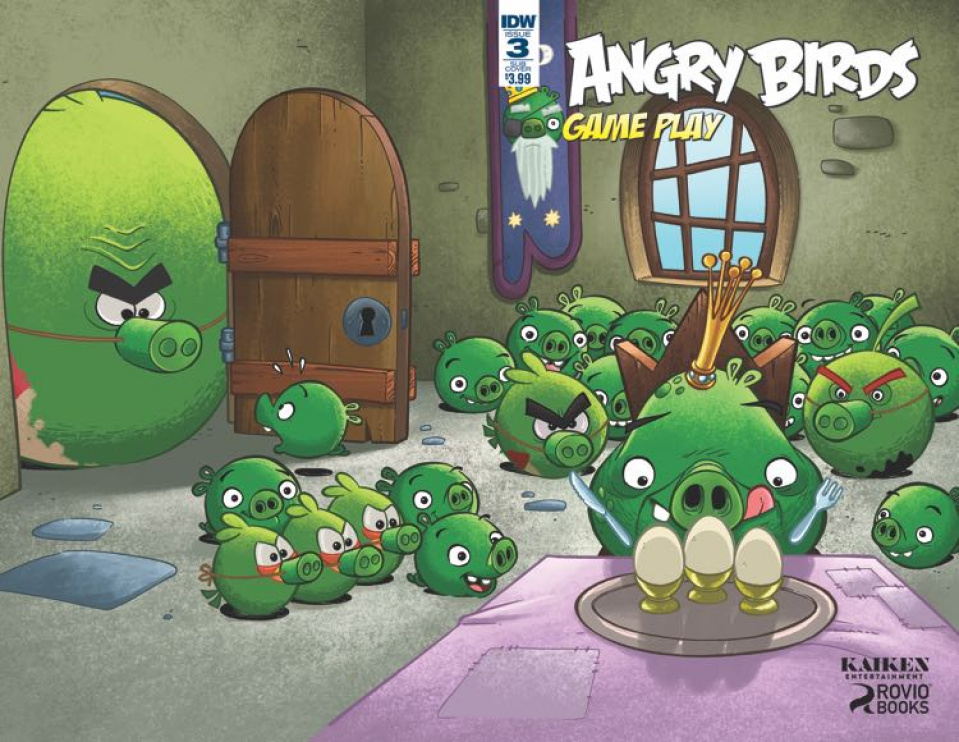 Angry Birds Comics: Game Play #3 (Subscription Cover)