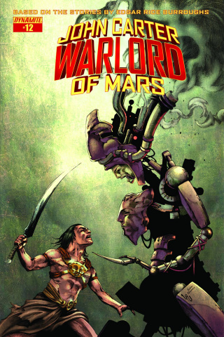 John Carter: Warlord of Mars #12 (Subscription Cover)