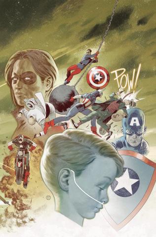 Captain America #703 (Tedesco Connecting Cover)