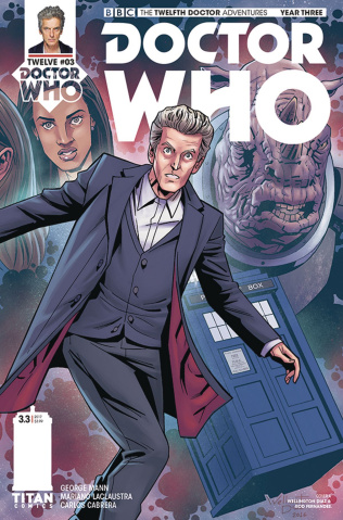 Doctor Who: New Adventures with the Twelfth Doctor, Year Three #3 (Alves Cover)