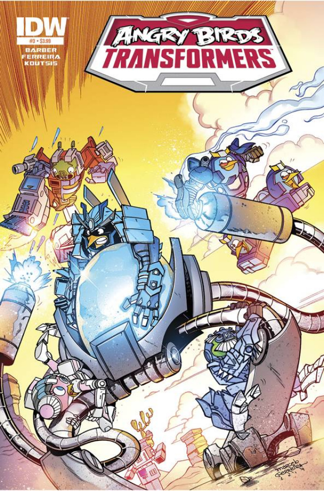 Angry Birds / Transformers #3