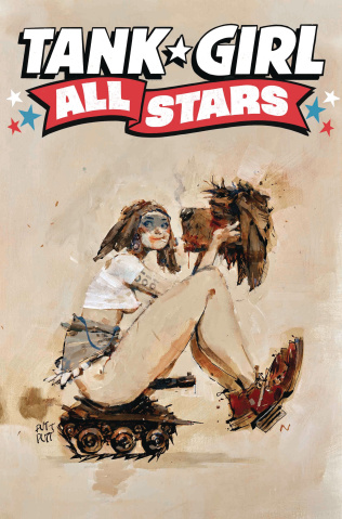 Tank Girl All Stars #1 (Wood Cover)