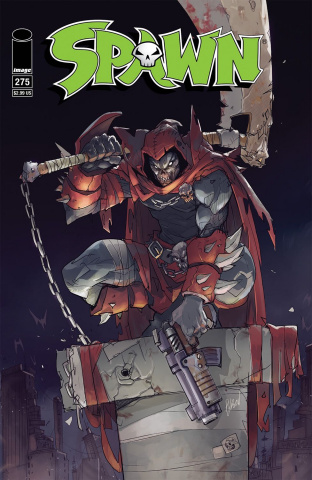 Spawn #275 (25th Anniversary Hibachi Cover)