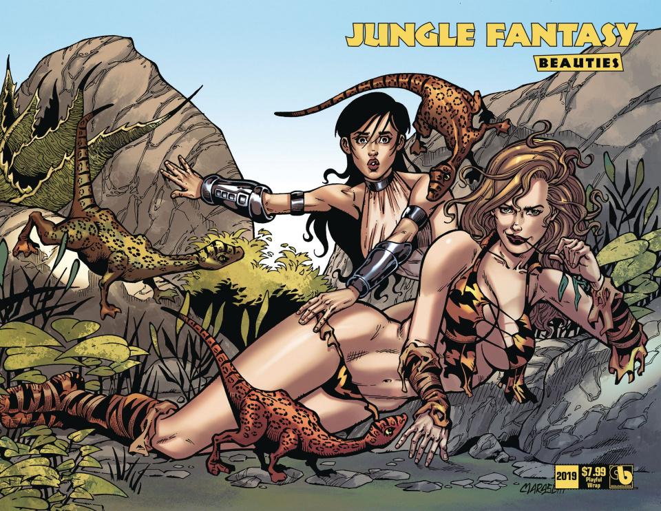 Jungle Fantasy Beauties 2019 (Playful Wrap Cover)