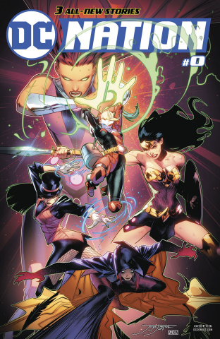 DC Nation #0 (JLA Cover)
