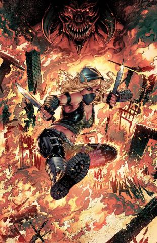 Robyn Hood: Hellfire #1 (Krome Cover)