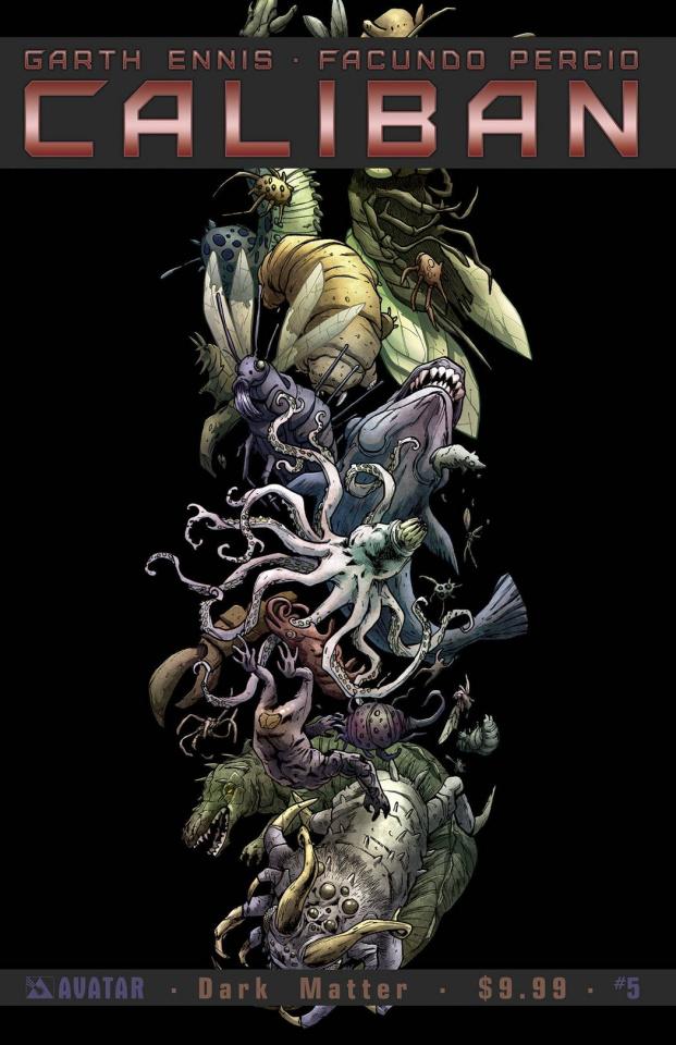 Caliban #5 (Dark Matter Cover)