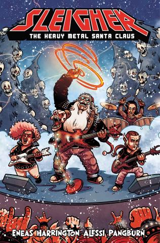 Sleigher: The Heavy Metal Santa Claus #3