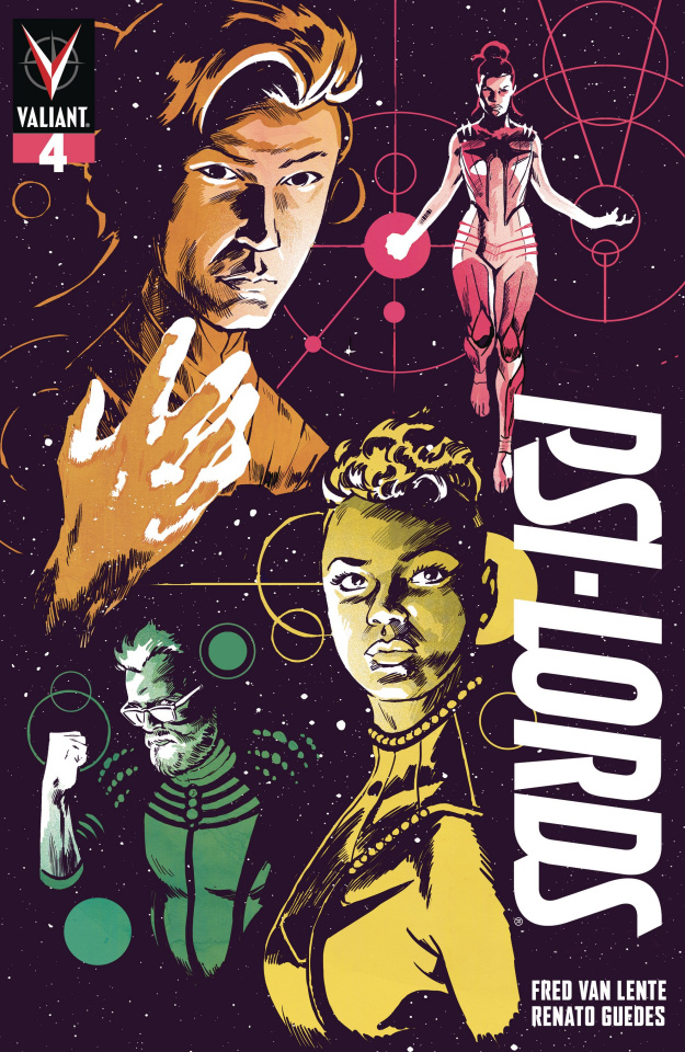 Psi-Lords #4 (Walsh Cover)