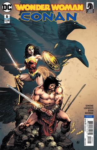 Wonder Woman / Conan #6 (Reis Cover)