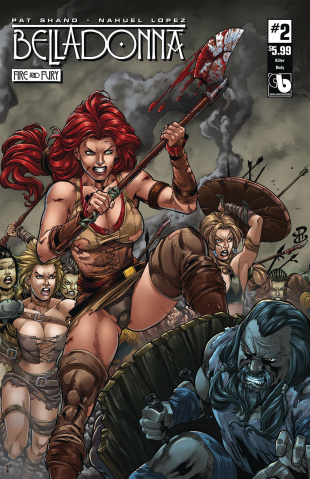 Belladonna: Fire and Fury #2 (Killer Body Cover)