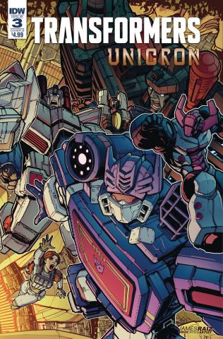 The Transformers: Unicron #3 (Raiz Cover)