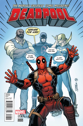 Deadpool #13 (Lim Cover)