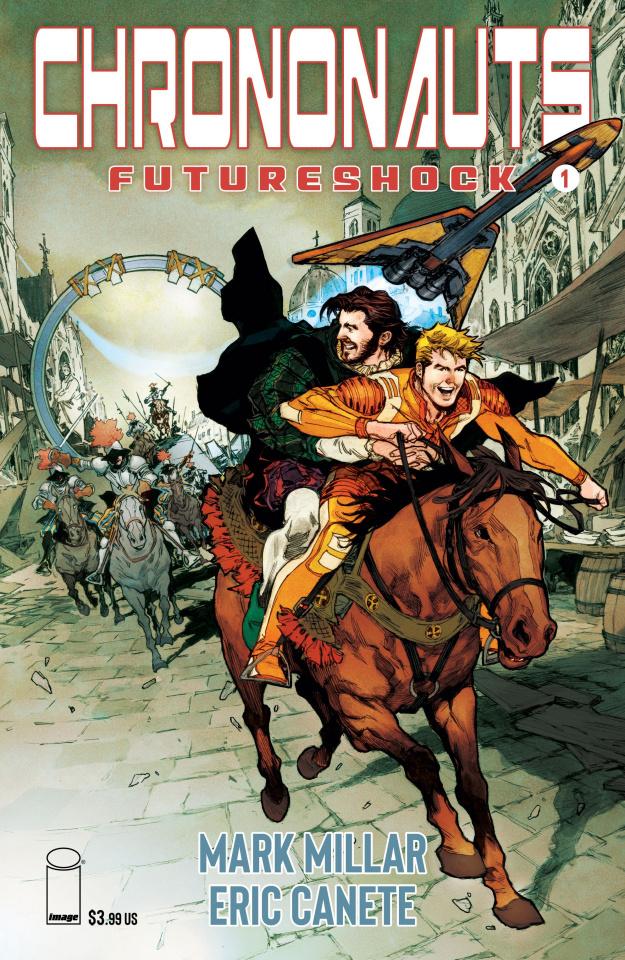 Chrononauts: Futureshock #1 (Macutay Cover)