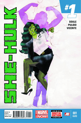 She-Hulk #1 (2nd Printing)
