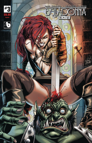 Belladonna: Fire and Fury #3 (Impaled Cover)