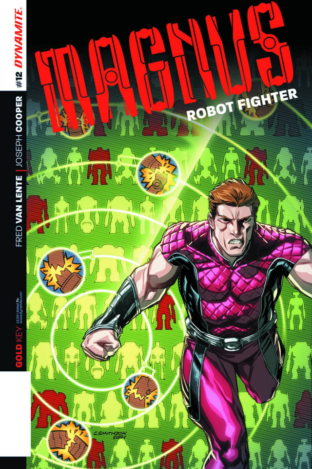 Magnus, Robot Fighter #12 (Smith Subscription Cover)