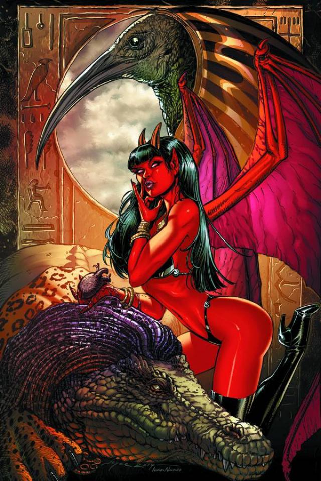 Purgatori #1 (Rare Chin Virgin Art Cover)