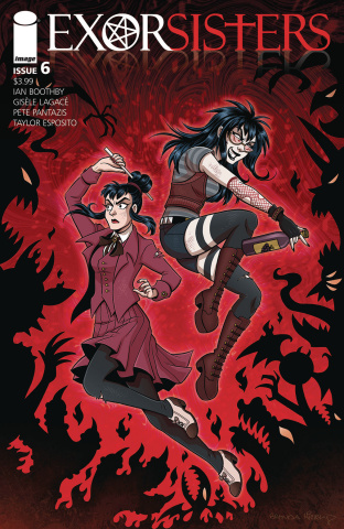 Exorsisters #6 (Hickey Cover)