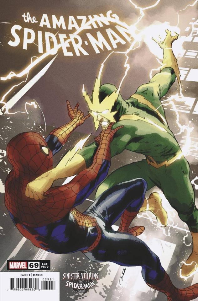 The Amazing Spider-Man #69 (Parel Spider-Man Villains Cover)