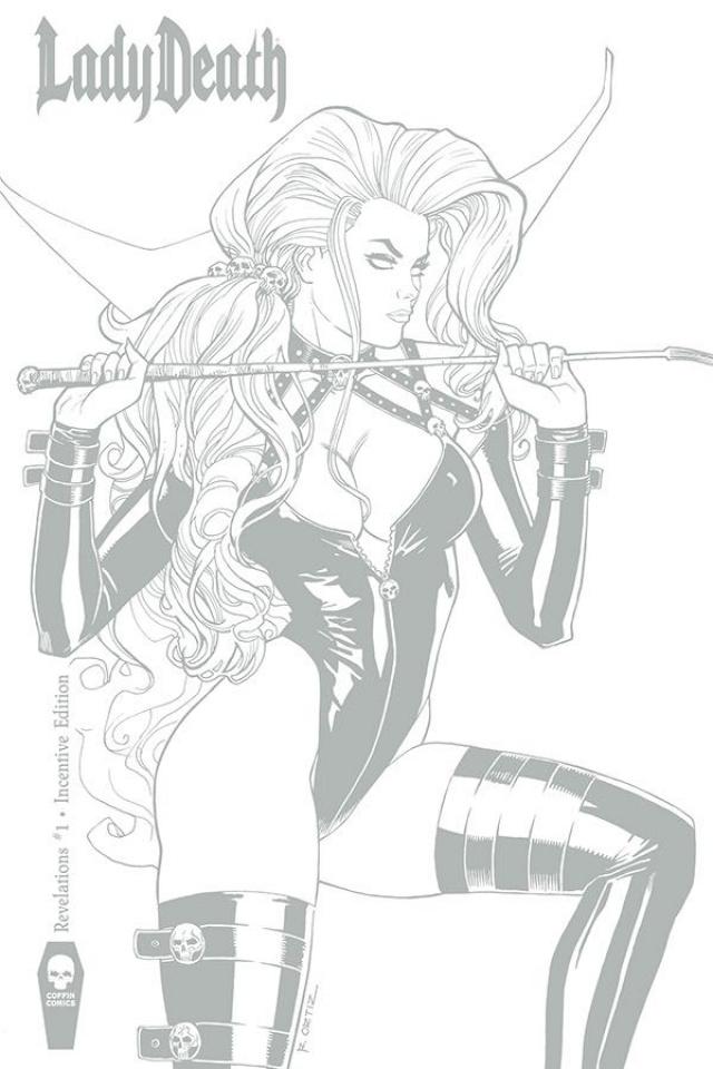 Lady Death: Revelations #1 (10 Copy Ortiz Cover)