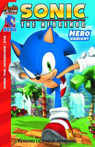 Sonic the Hedgehog #276 (Sega Cover)