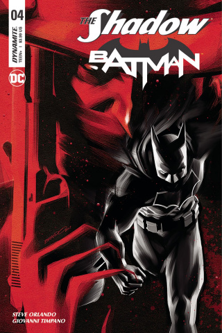The Shadow / Batman #4 (Peterson Cover)