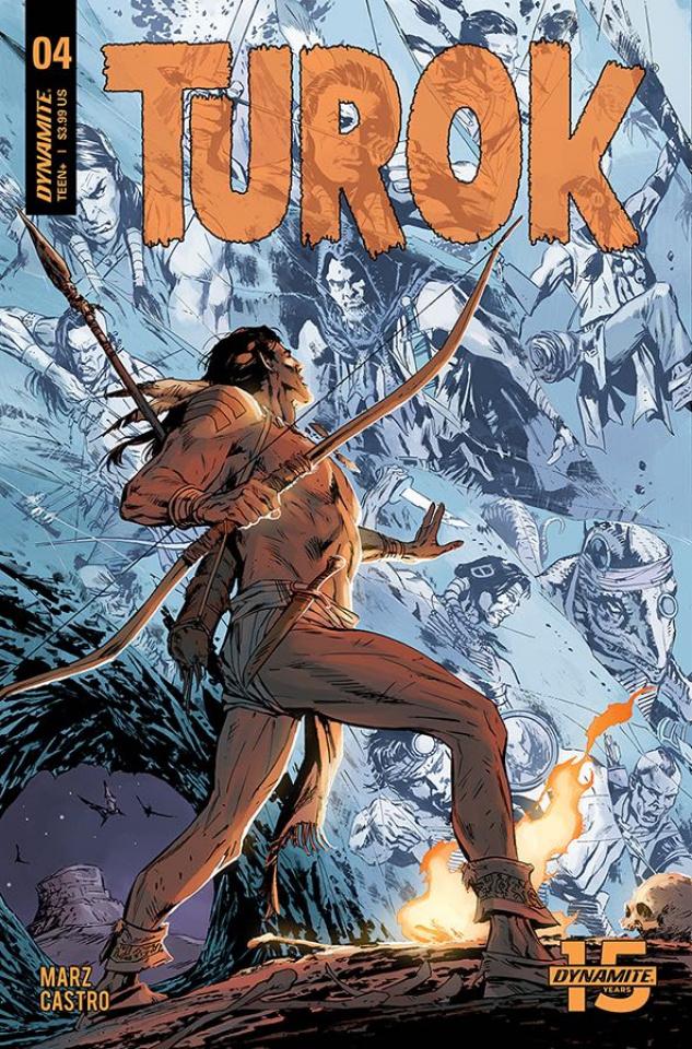 Turok #4 (Guice Cover)