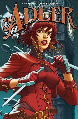 Adler #1 (McCaffrey Cover)