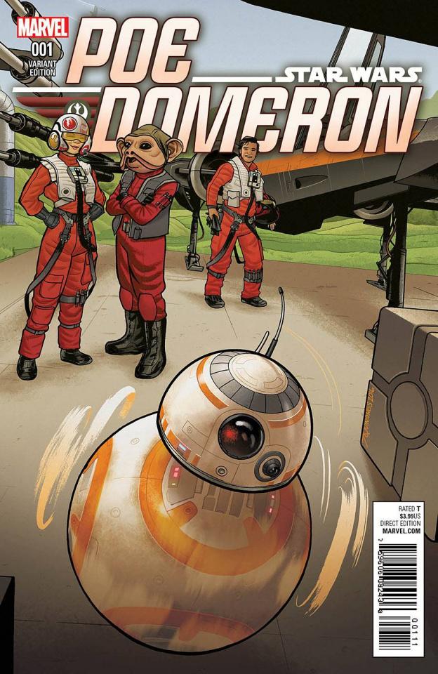 Star Wars: Poe Dameron #1 (Quinones BB-8 Cover)
