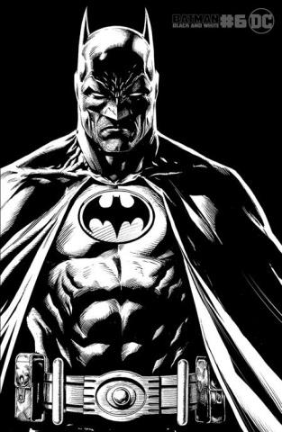 Batman: Black & White #6 (Jason Fabok Cover)