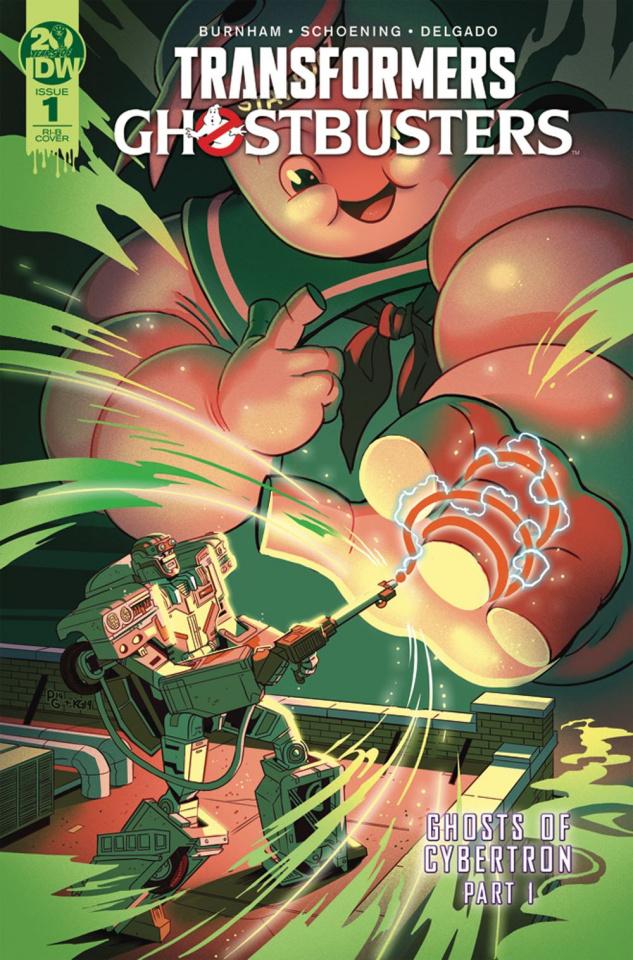 The Transformers / Ghostbusters #1 (25 Copy Ganucheau Cover)