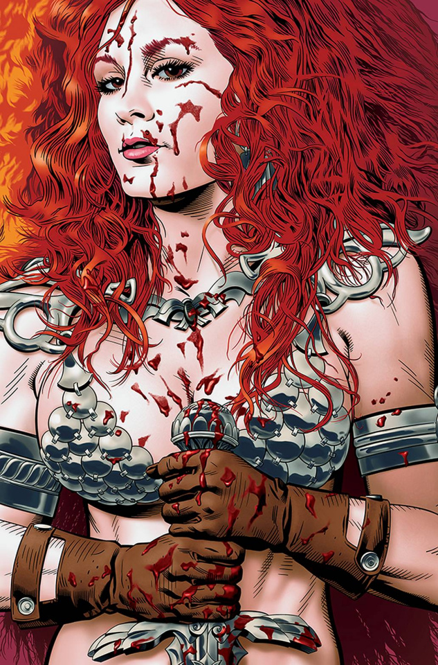 Red Sonja: The Price of Blood #3 (Golden Virgin Cover)