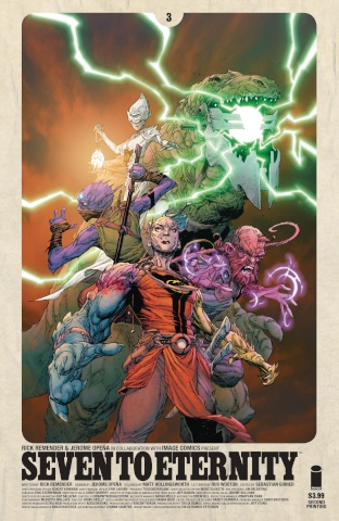 Seven to Eternity #3 (2nd Printing)