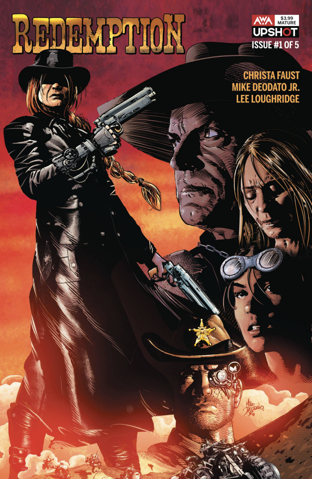 Redemption #1 (Deodato Jr. Cover)