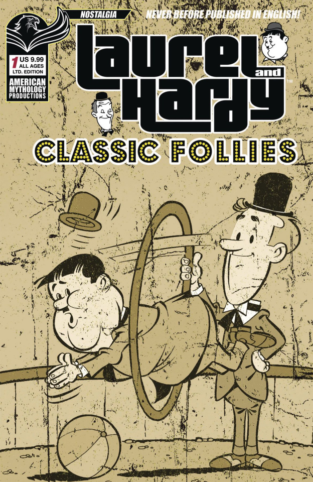 Laurel and Hardy: Classic Follies #1 (Limited Edition Cover)