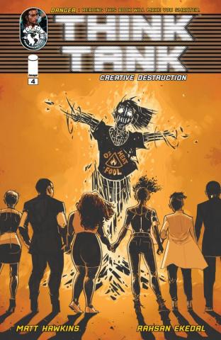 Think Tank: Creative Destruction #4 (Ekedal Cover)