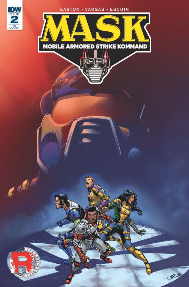 M.A.S.K.: Mobile Armored Strike Kommand #2 (10 Copy Cover)