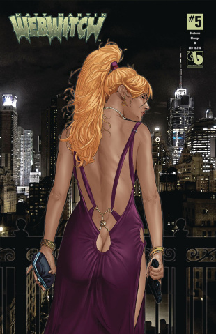 Webwitch #5 (Costume Change Cover)
