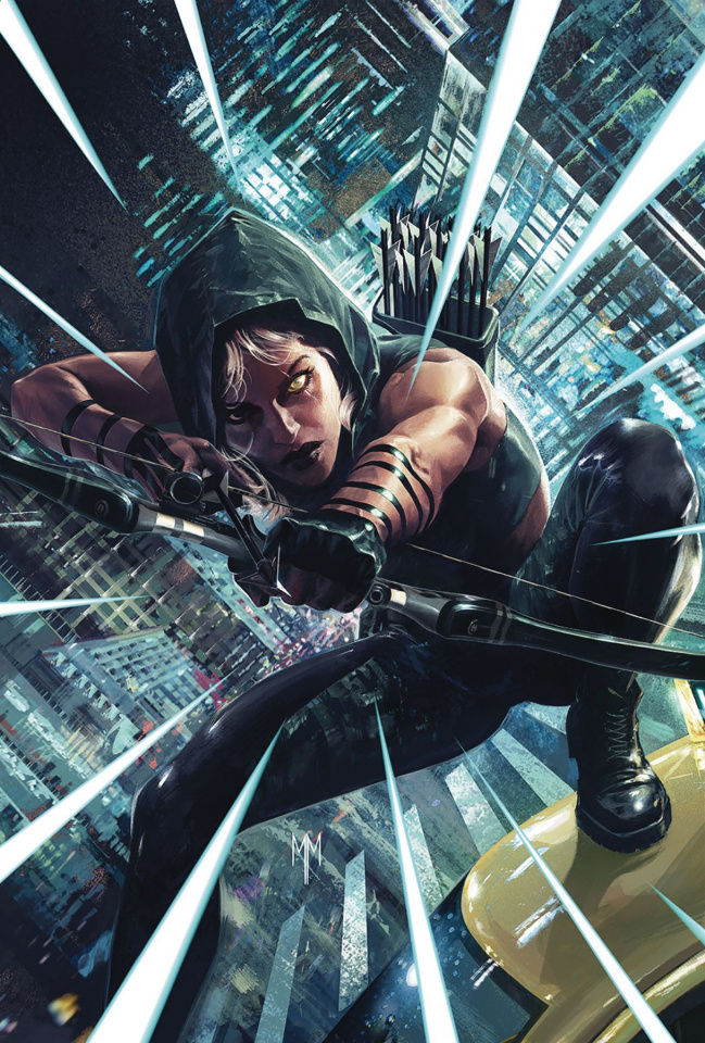 Robyn Hood: Outlaw #4 (Mastrazzo Cover)