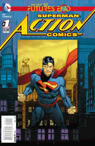Action Comics: Future's End #1