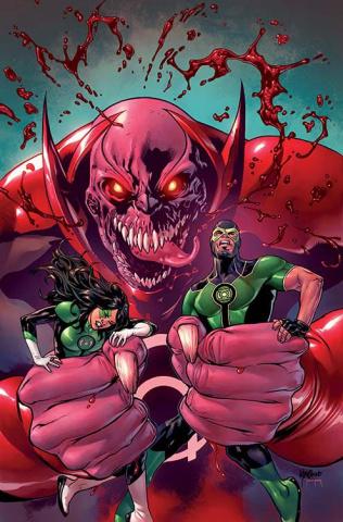 Green Lanterns #5 (Variant Cover)