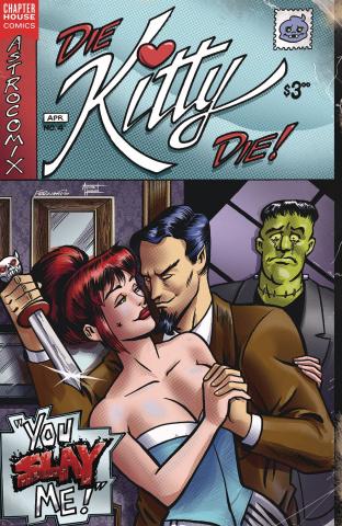 Die Kitty Die #4 (Parent Cover)